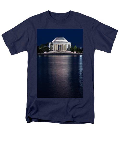 Jefferson Memorial Washington D C Men's T-Shirt  (Regular Fit) by Steve Gadomski