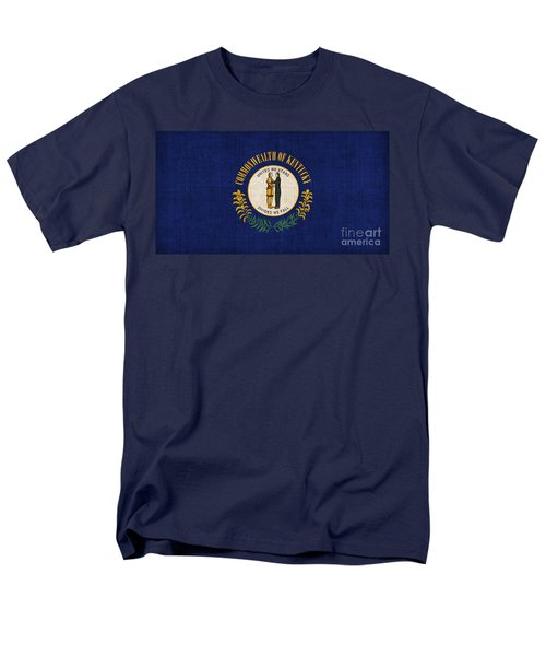 Kentucky State Flag T-Shirt by Pixel Chimp