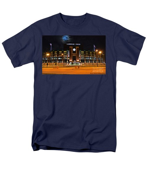 Lambeau Field at Night T-Shirt by Tommy Anderson