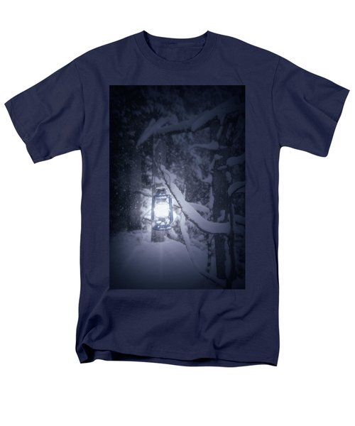 lantern in snow T-Shirt by Joana Kruse