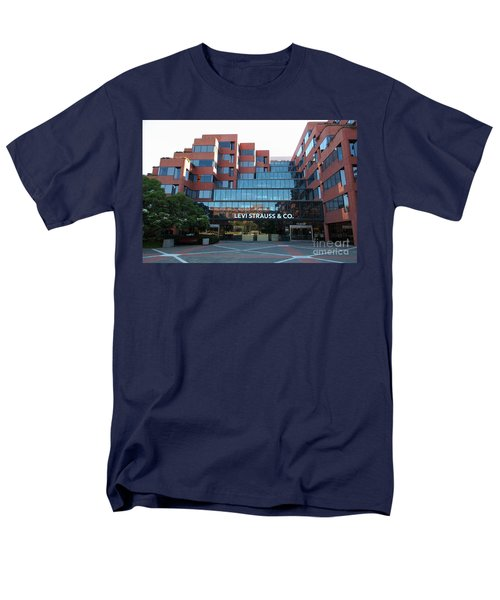 Levi Strauss and Company Plaza At The San Francisco Embarcadero 5D26202 T-Shirt by Wingsdomain Art and Photography