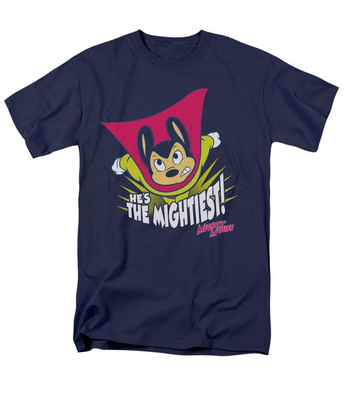 Mighty Mouse - The Mightiest Men's T-Shirt  (Regular Fit) by Brand A