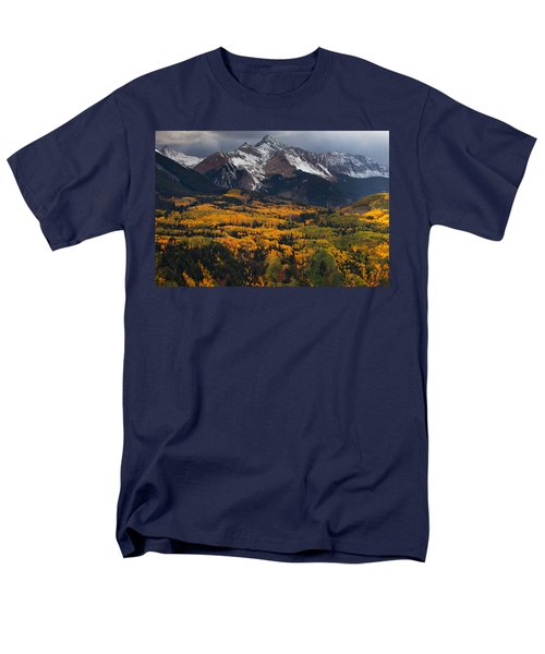 Mountainous Storm T-Shirt by Darren  White