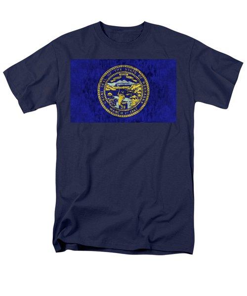 Nebraska Flag T-Shirt by World Art Prints And Designs