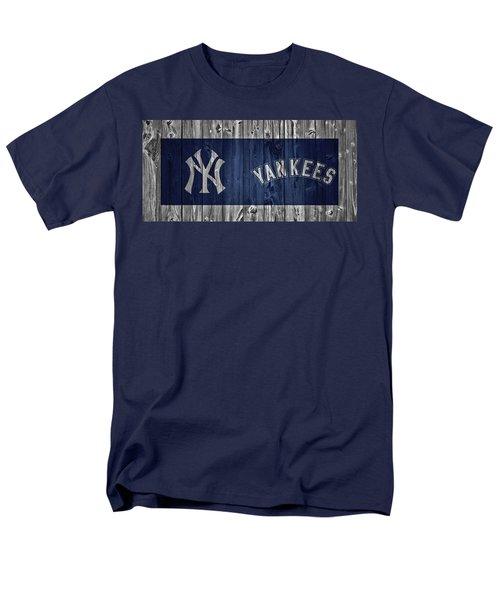 New York Yankees Barn Door Men's T-Shirt  (Regular Fit) by Dan Sproul