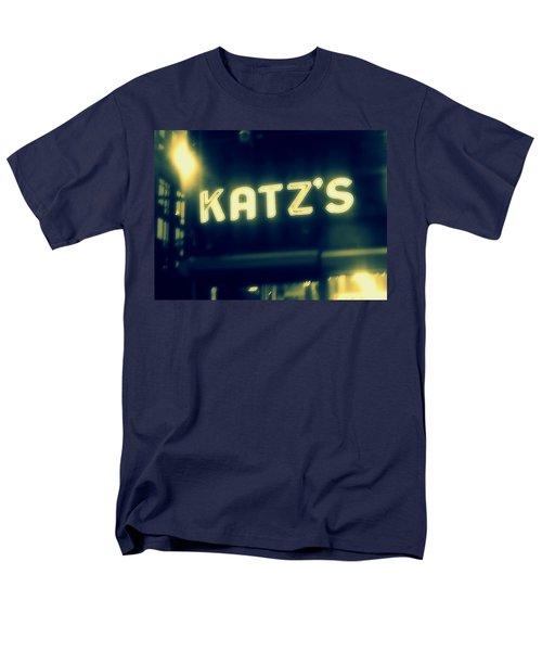 Nyc's Famous Katz's Deli Men's T-Shirt  (Regular Fit) by Paulo Guimaraes