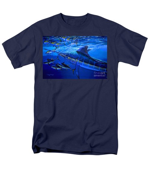 Out Of The Blue Men's T-Shirt  (Regular Fit) by Carey Chen
