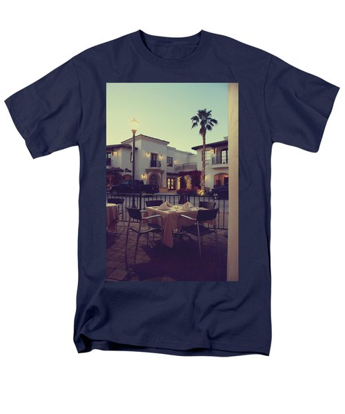Outside Dining T-Shirt by Laurie Search