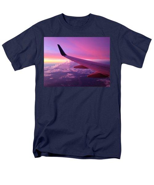 Pink Flight T-Shirt by Chad Dutson