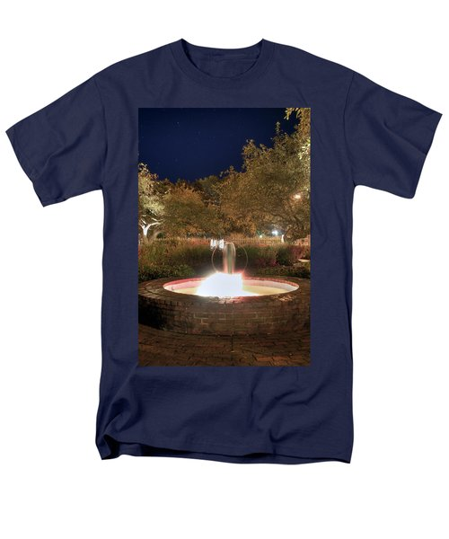 Prescott Park Fountain T-Shirt by Joann Vitali