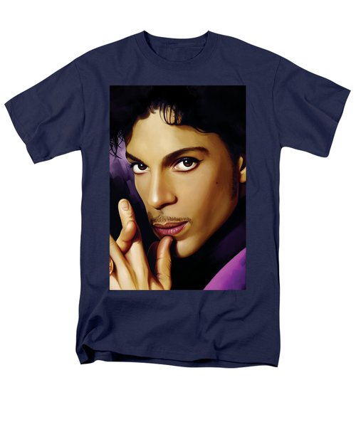Prince Artwork T-Shirt by Sheraz A