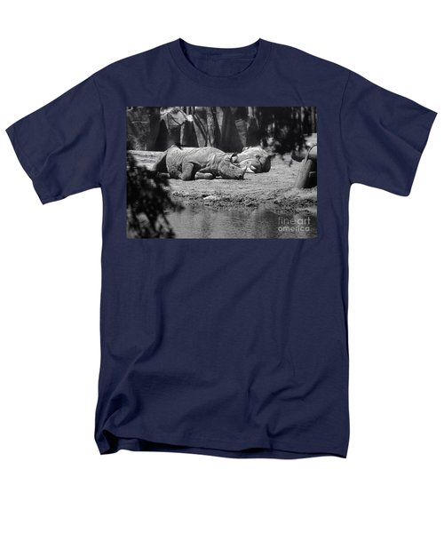 Rhino Nap Time Men's T-Shirt  (Regular Fit) by Thomas Woolworth