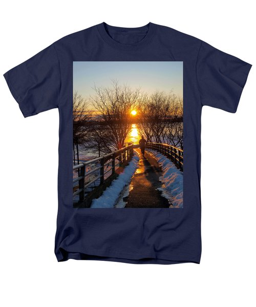 Running in Sunset T-Shirt by Paul Ge