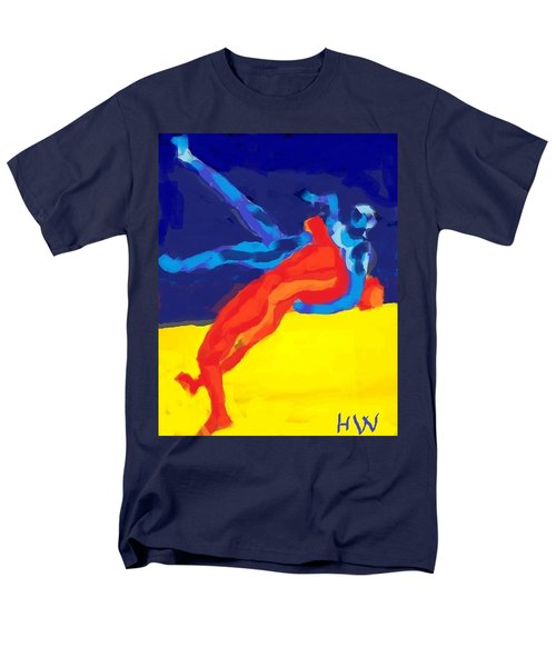 Save olympic wrestling T-Shirt by Hilde Widerberg