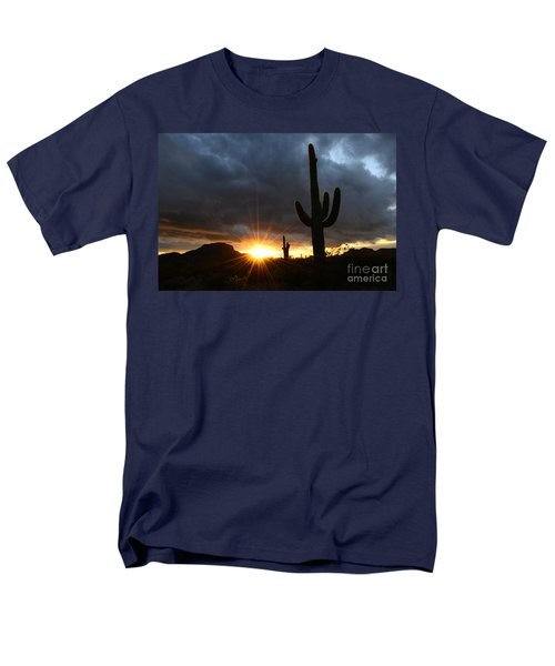 Sonoran Desert Rays Of Hope T-Shirt by Bob Christopher