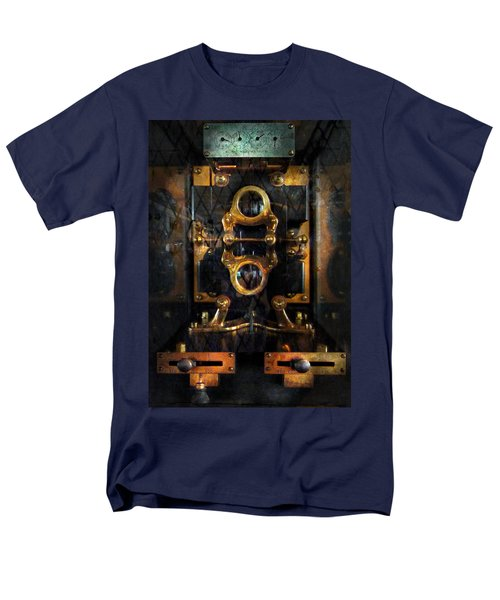 Steampunk - Electrical - The power meter T-Shirt by Mike Savad