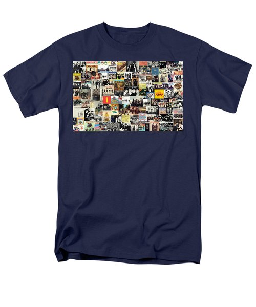 The Beatles Collage T-Shirt by Taylan Soyturk