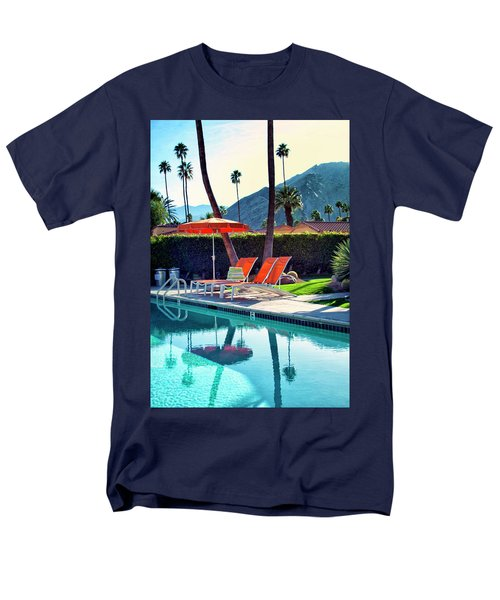 WATER WAITING Palm Springs T-Shirt by William Dey