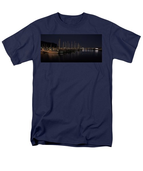 WINCHESTER BAY MARINA - OREGON COAST T-Shirt by Daniel Hagerman