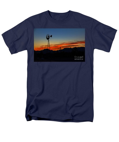 Windmill Silhouette T-Shirt by Robert Bales