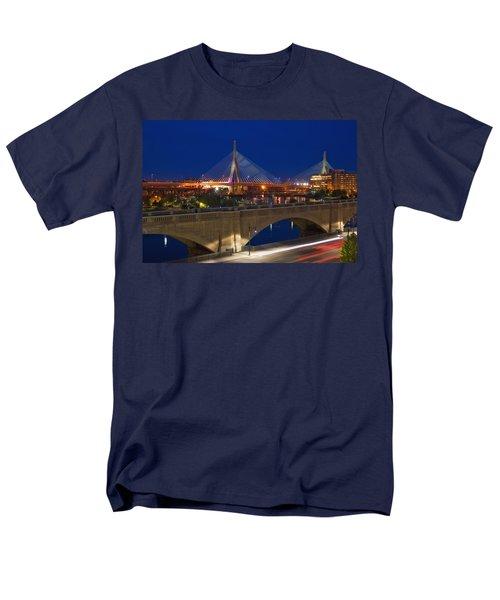 Zakim at Night 2 T-Shirt by Joann Vitali