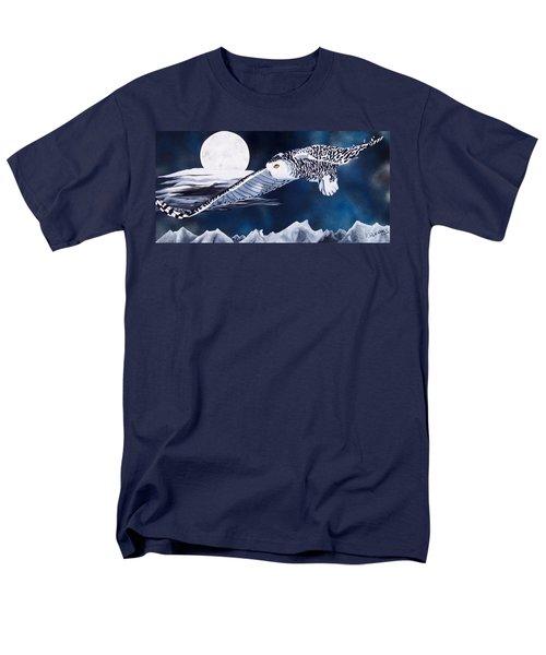 Snowy Flight T-Shirt by Debbie LaFrance