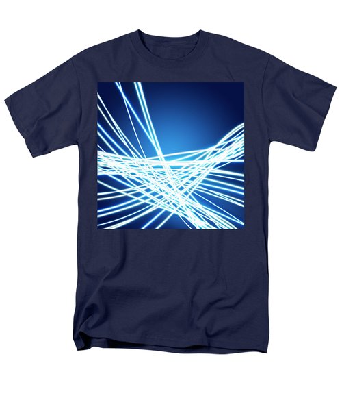 Abstract of weaving line T-Shirt by Setsiri Silapasuwanchai