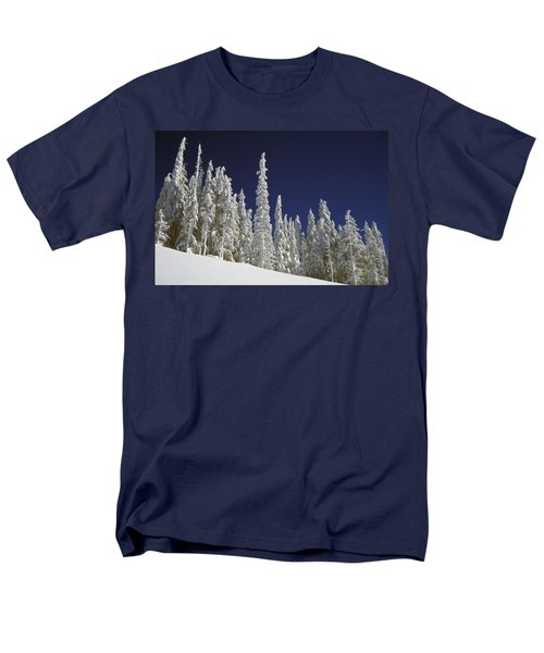 Snow-covered Pine Trees T-Shirt by Natural Selection Craig Tuttle