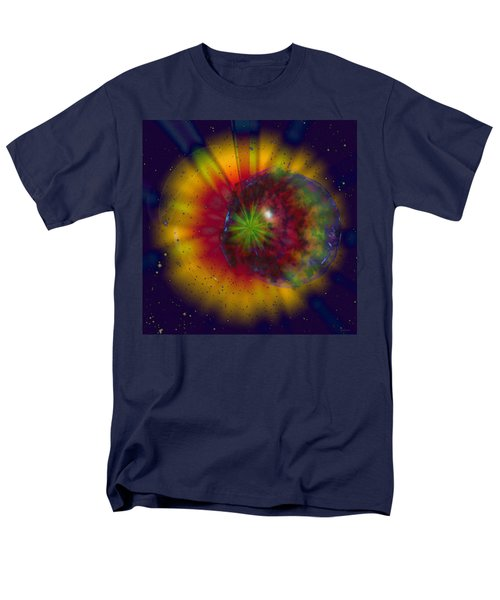 Cosmic Light T-Shirt by Linda Sannuti