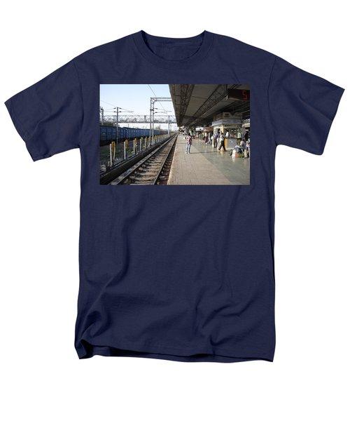 Indian railway station T-Shirt by Sumit Mehndiratta