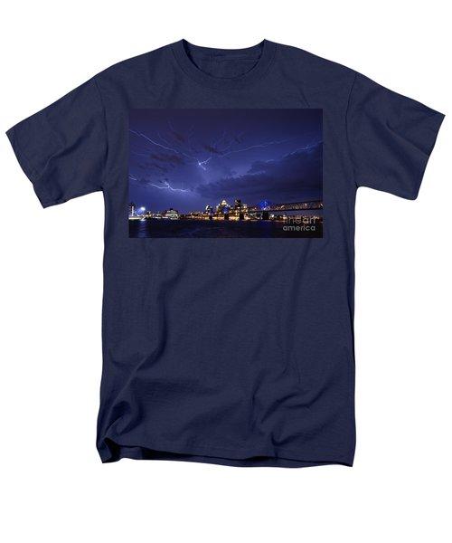 Louisville Storm - D001917b T-Shirt by Daniel Dempster