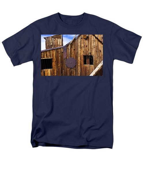 Old building Bodie ghost town T-Shirt by Garry Gay