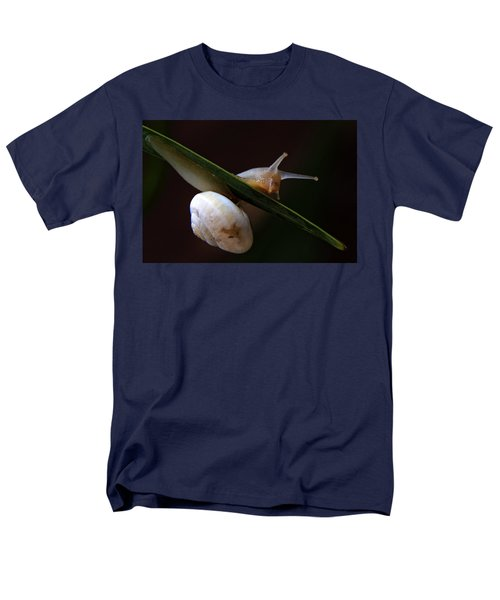 snail T-Shirt by Stylianos Kleanthous