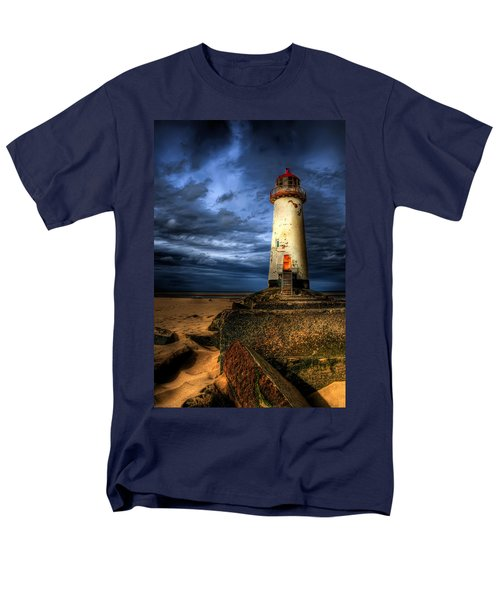 The Talacre Lighthouse T-Shirt by Adrian Evans
