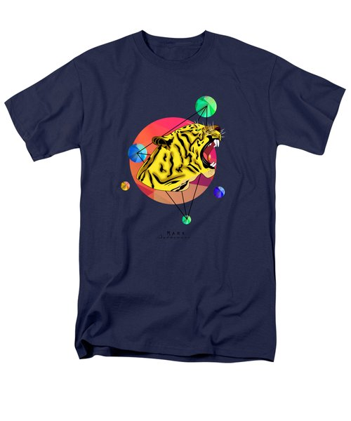 Tiger  Men's T-Shirt  (Regular Fit) by Mark Ashkenazi