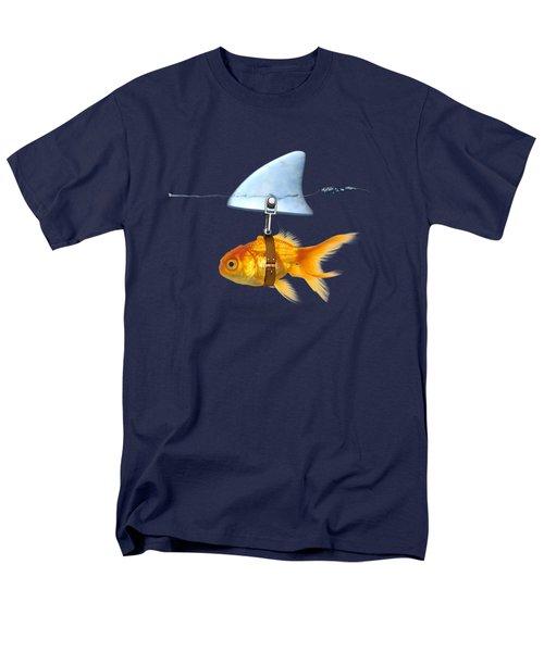 Gold Fish  Men's T-Shirt  (Regular Fit) by Mark Ashkenazi