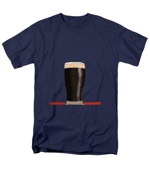 A Glass Of Stout Men's T-Shirt  (Regular Fit) by Keshava Shukla