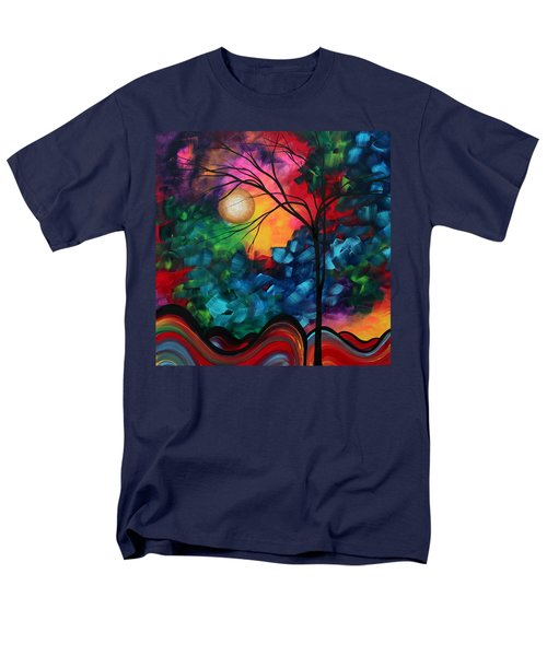 Abstract Landscape Bold Colorful Painting T-Shirt by Megan Duncanson