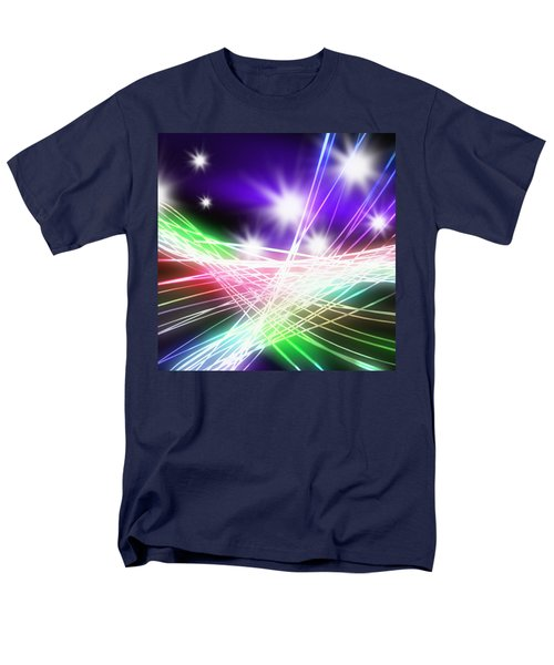 Abstract of stage concert lighting T-Shirt by Setsiri Silapasuwanchai