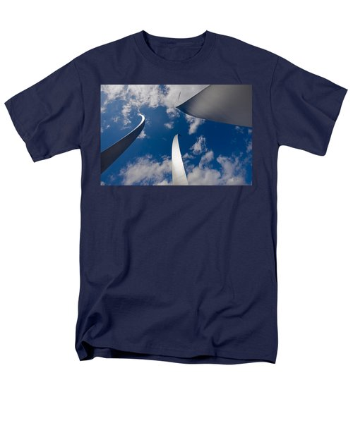 Air Force Memorial T-Shirt by Louise Heusinkveld