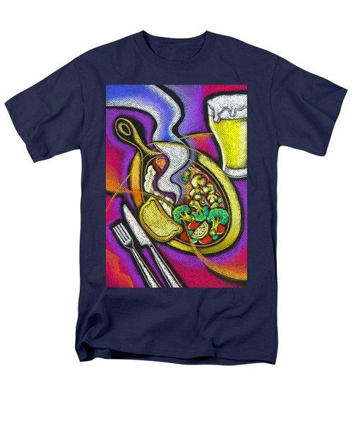 Appetizing Dinner Men's T-Shirt  (Regular Fit) by Leon Zernitsky