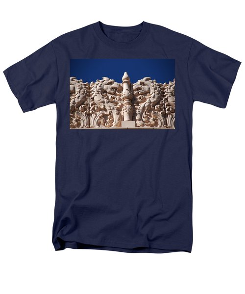 Architecture at the Lensic Theater in Santa Fe T-Shirt by Susanne Van Hulst