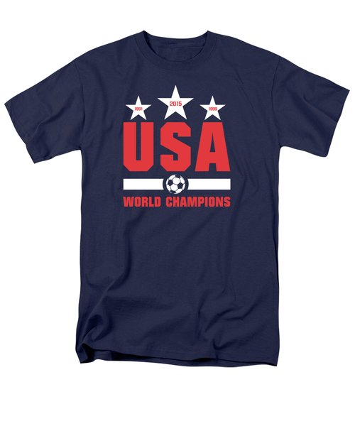 Usa World Champions Men's T-Shirt  (Regular Fit) by Ryan Wood