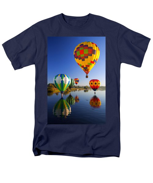 Balloon Reflections T-Shirt by Mike  Dawson
