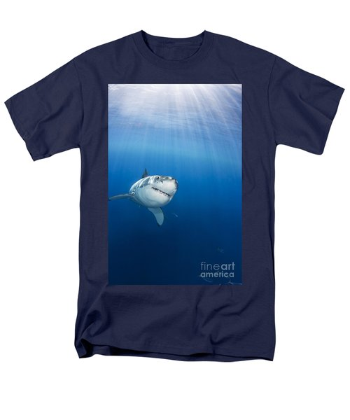Beautiful Great White T-Shirt by Dave Fleetham - Printscapes