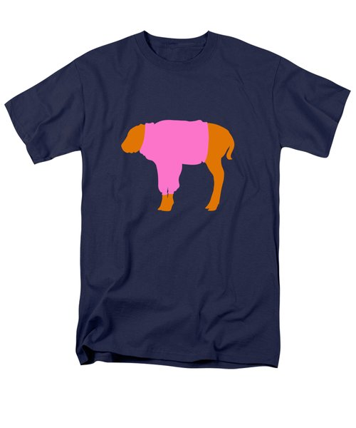 The Bison Calf Looked Cold Men's T-Shirt  (Regular Fit) by Max Waugh
