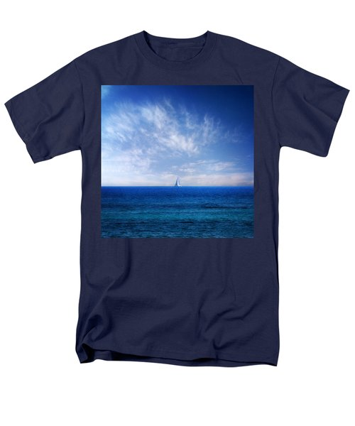 blue mediterranean T-Shirt by Stylianos Kleanthous