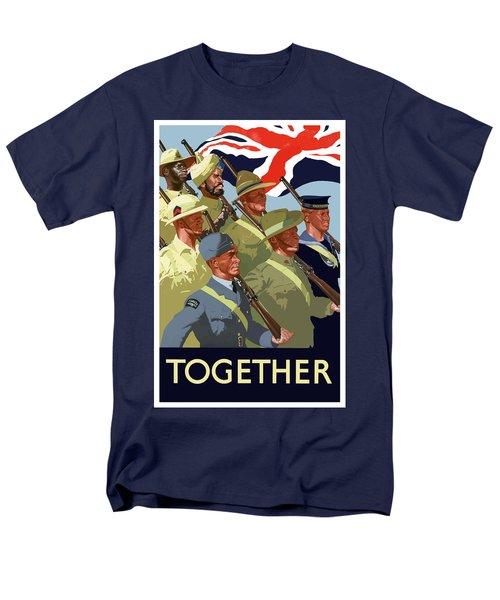 British Empire Soldiers Together T-Shirt by War Is Hell Store