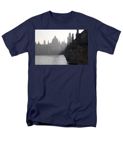 Charles bridge at early morning T-Shirt by Michal Boubin