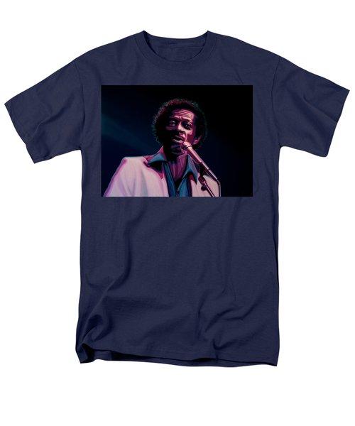 Chuck Berry Men's T-Shirt  (Regular Fit) by Paul Meijering